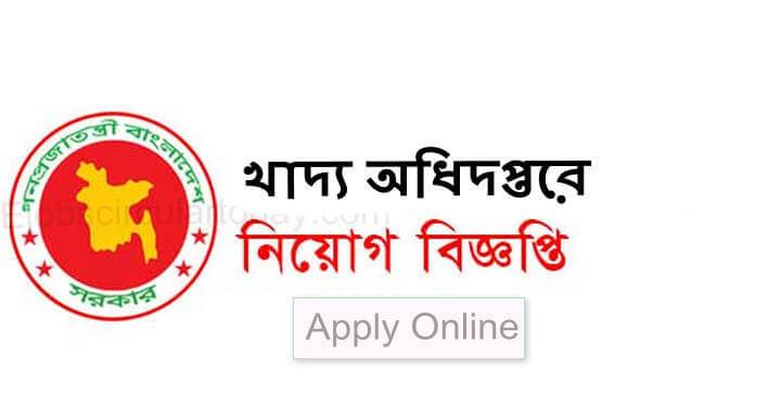 Ministry of Food Job Circular 2020